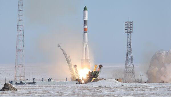 Запуск РН Союз-У с ТГК Прогресс МС-05. 22 февраля 2017