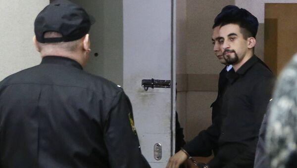 Ислам Бабаев, обвиняемый в убийстве бывшего начальника полиции Сызрани Андрея Гошта,  в Самарском областном суде перед оглашением приговора. 22 февраля 2017