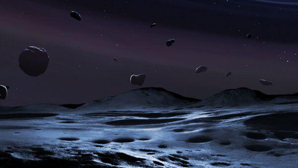 Так художник представил себе каменистую планету - Татуин в созвездии Змеи