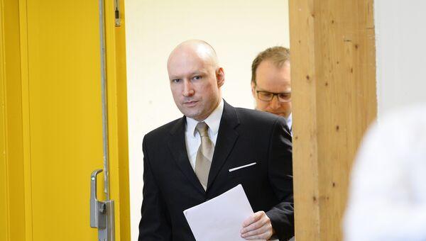 Норвежский террорист Андерс Брейвик. Архивное фото