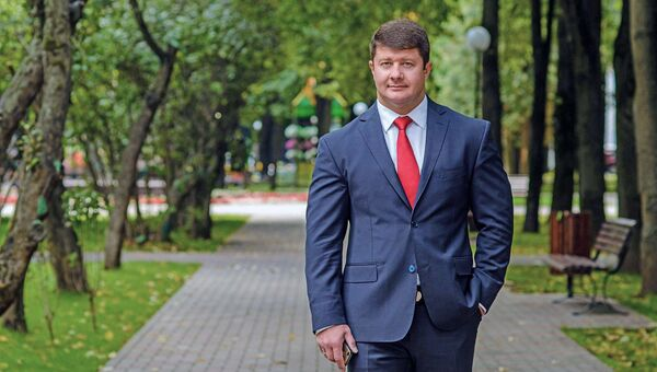 Исполняющий обязанности мэра города Ярославля Владимир Слепцов