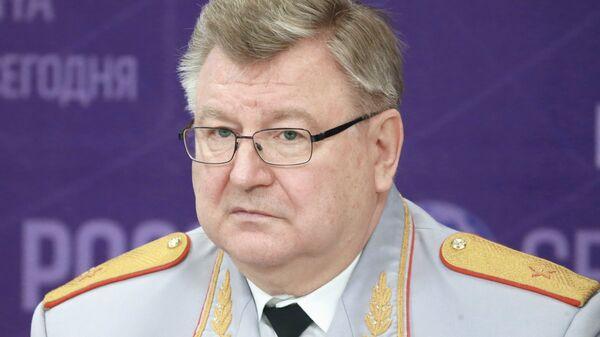 Виктор Елисеев на пресс-конференции в международном мультимедийном пресс-центре МИА Россия сегодня. 6 марта 2017