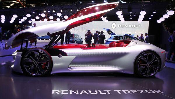 Автомобиль Renault Trezor на Женевском международном автосалоне