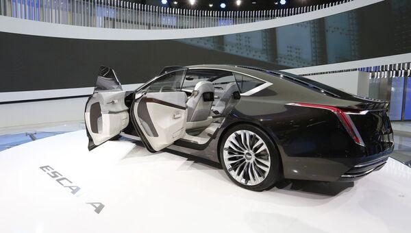 Автомобиль Cadillac Escala на Женевском международном автосалоне