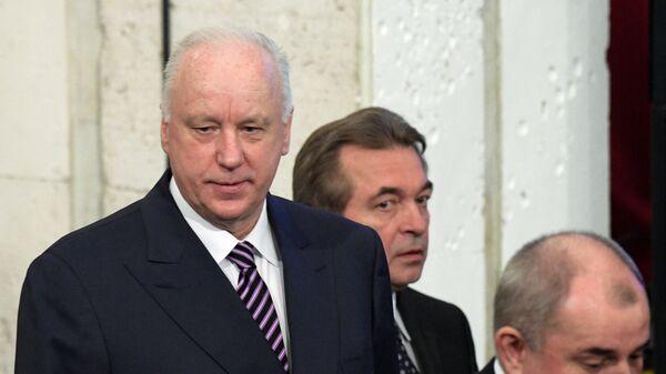 Председатель следственного комитета РФ Александр Бастрыкин во время заседания коллегии МВД России. 9 марта 2017