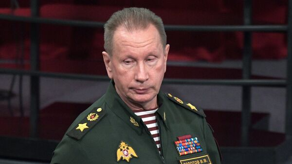 Главнокомандующий войсками национальной гвардии Российской Федерации Виктор Золотов