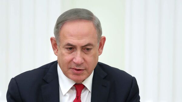 Премьер-министр Израиля Биньямин Нетаньяху во время встречи с президентом РФ Владимиром Путиным. 9 марта 2017