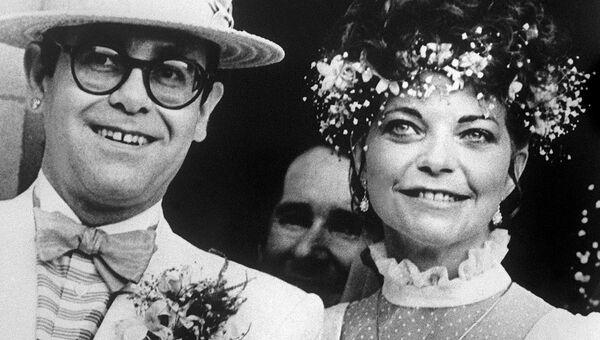 Свадьба Элтона Джона и Ренаты Блауэл, 14 февраля 1984