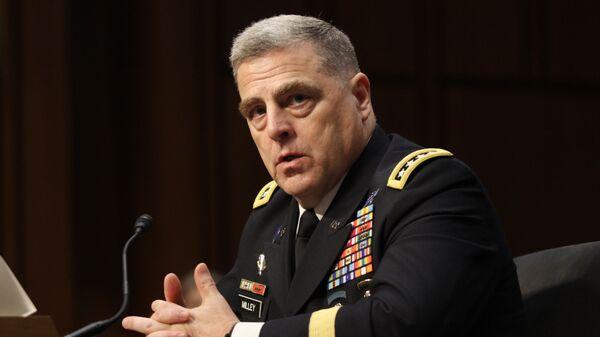 Начальник штаба американских сухопутных войск генерал Марк Милли. 2015 год