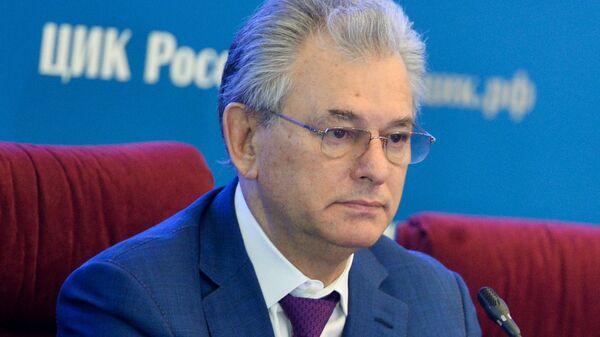 Заместитель председателя Центральной избирательной комиссии Николай Булаев
