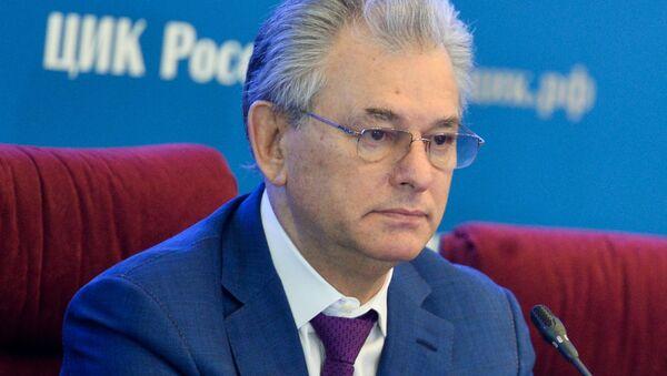 Заместитель председателя Центральной избирательной комиссии Николай Булаев. Архивное фото