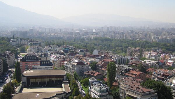 Вид столицы Болгарии Софии