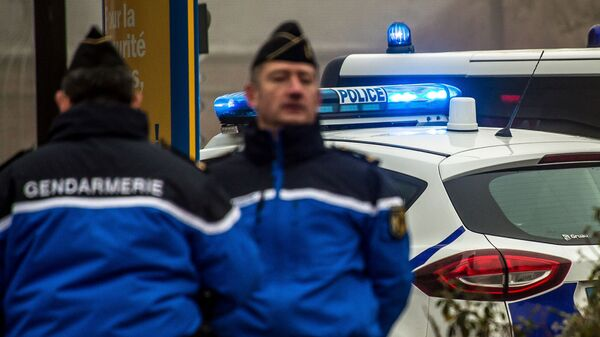 Сотрудники жандармерии и полиции во Франции