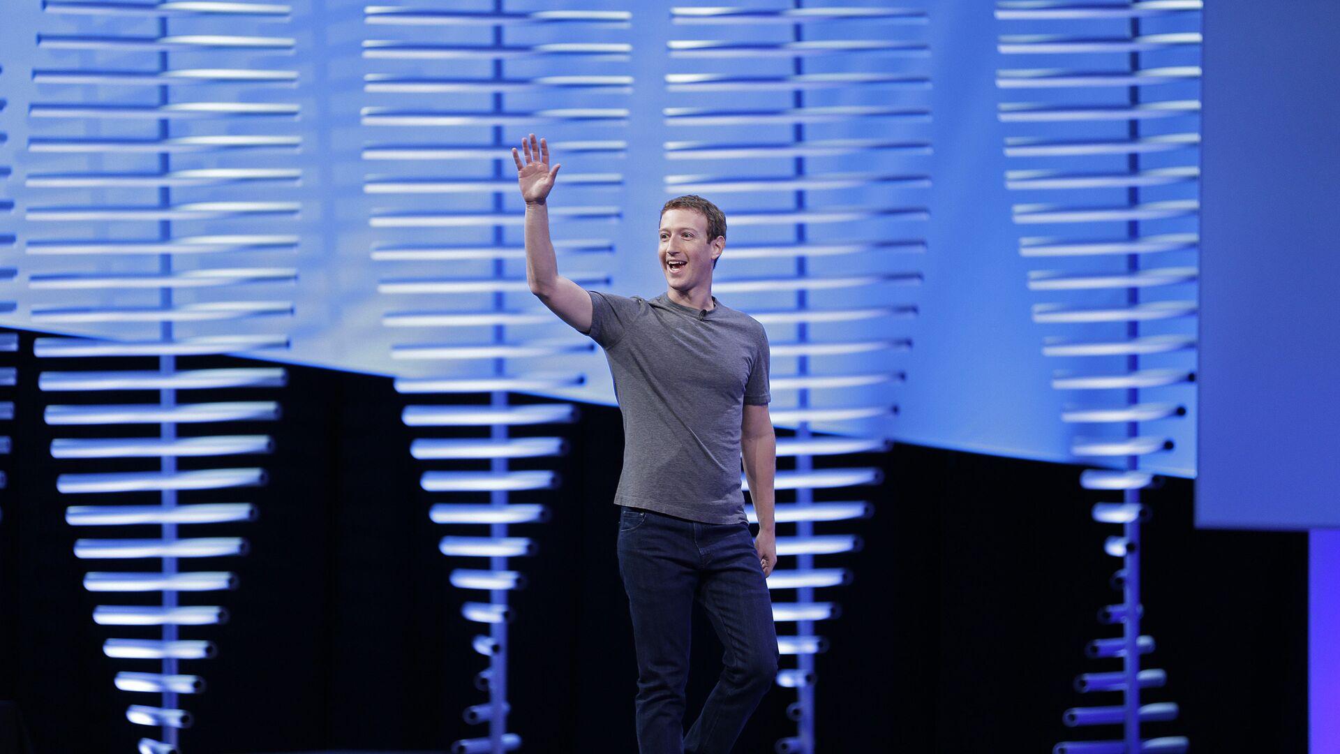 Генеральный директор Facebook Марк Цукерберг - РИА Новости, 1920, 10.02.2021