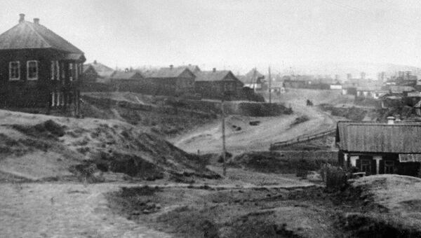 Вид дореволюционного города Царицына