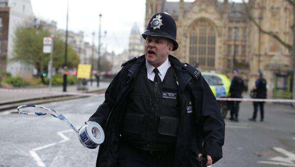 Полицейский в Великобритании. Архивное фото