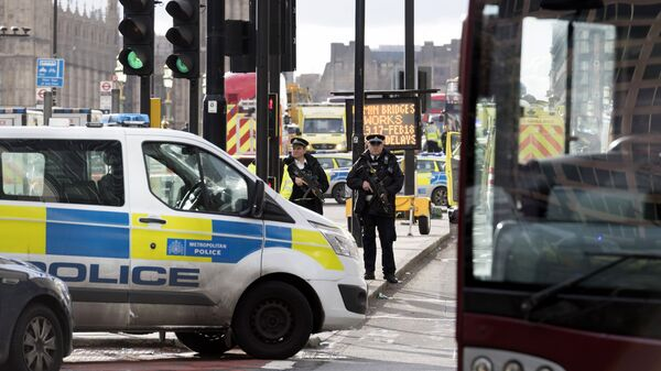 Сотрудники полиции в Лондоне