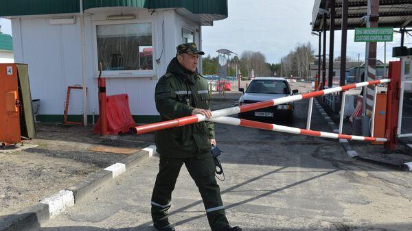 Пограничник в Белоруссии