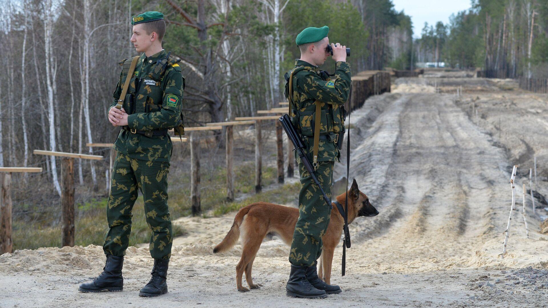 Белорусский пограничный знак обстреляли с территории Украины