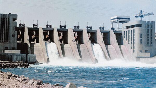 ГЭС в Сирии на реке Евфрат. Архивное фото