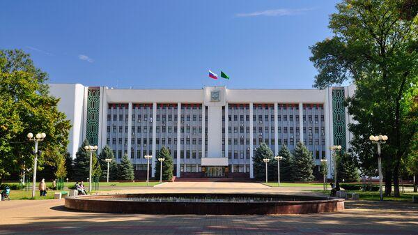 Дом правительства Республики Адыгея, Майкоп. Архивное фото
