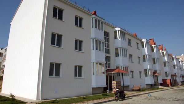 Новый дом в Крыму для переселенцев из зоны строительства Керченского моста