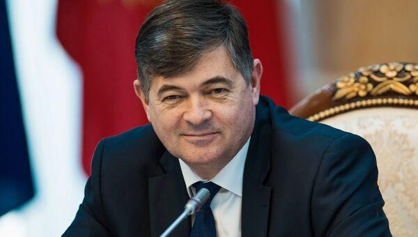 Вице-премьер-министр Киргизии Олег Панкратов. Архивное фото