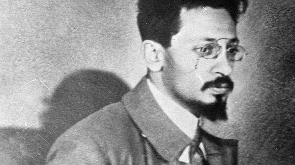 Яков Михайлович Свердлов (1885-1919), российский политический и государственный деятель, революционер, большевик. Архивное фото