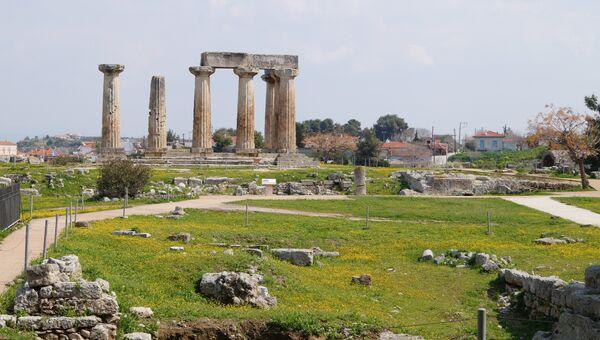 Вид на Храм Аполлона