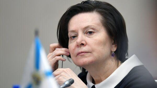 Губернатор Ханты-Мансийского автономного округа — Югры Наталья Комарова. Архивное фото