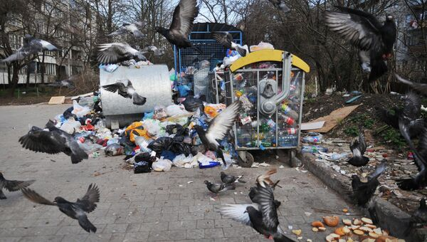 Невывезенный мусор
