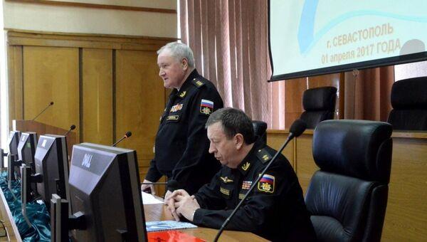 Главком ВМФ России провел заседание Военного Совета ВМФ в Севастополе