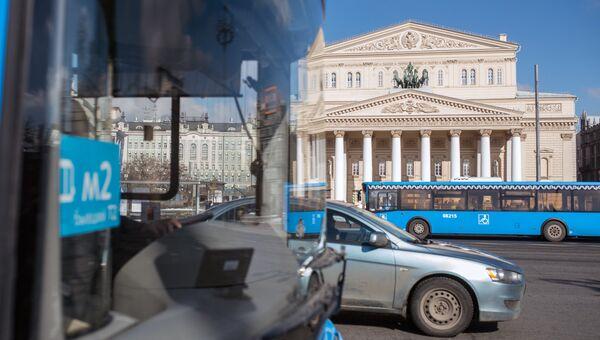 Автобус в Москве. Архивное фото