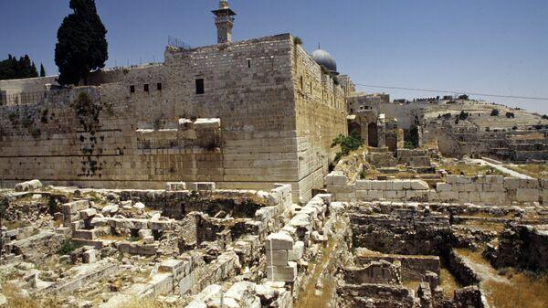 Храм Соломона в руинах