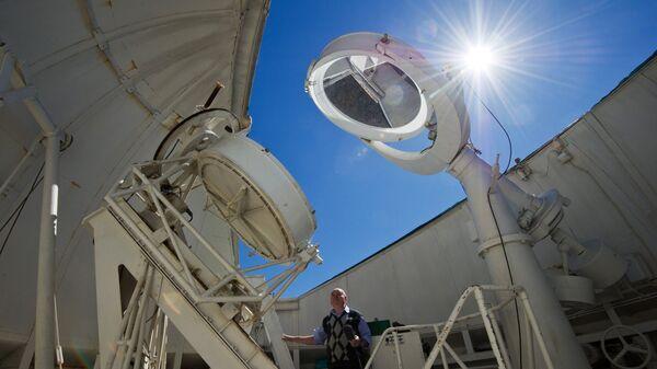 Крымская астрофизическая обсерватория РАН. Архивное фото