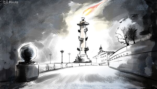 Траур в Санкт-Петербурге