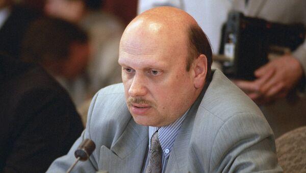 Начальник Центра общественных связей ФСБ РФ Александр Михайлов
