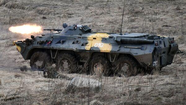 Совместные тактические учения подразделений ВДВ РФ и ССО ВС РБ в Витебске