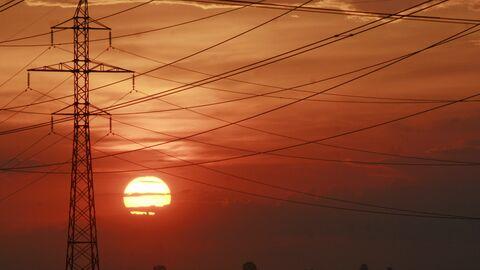 Линии электропередач в Киеве