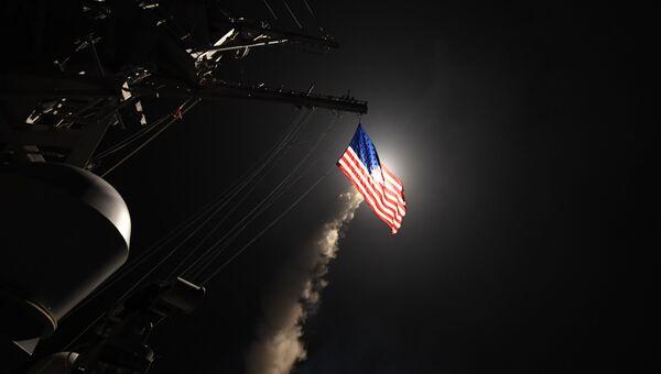 США нанесли ракетный удар по авиабазе в Сирии. Архивное фото