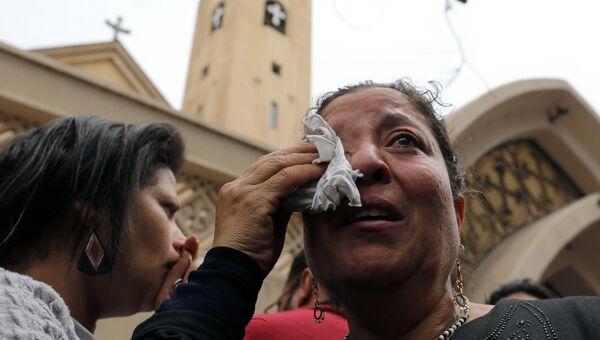 Взрыв в египетской Танте