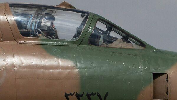 Самолет сирийских военно-воздушных сил. Архивное фото