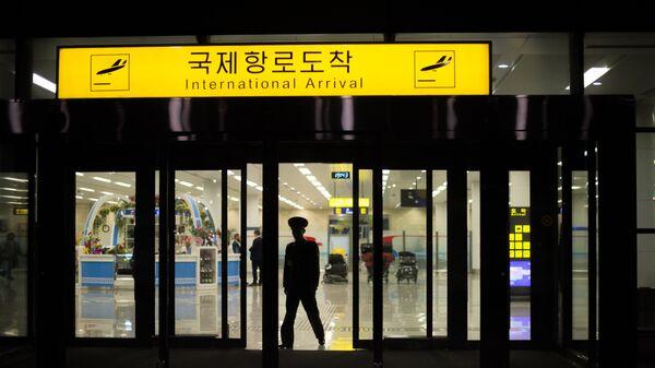 Международный аэропорт Пхеньяна. Архивное фото