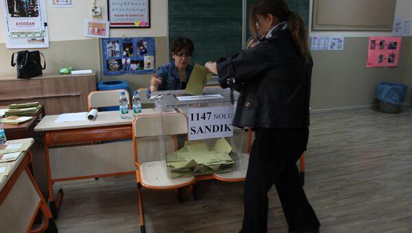 Голосование на референдуме в Турции. 16 апреля