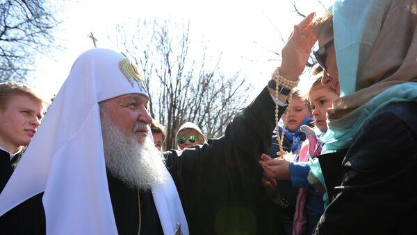 Освящение пасхальных куличей в Великую субботу. Архивное фото