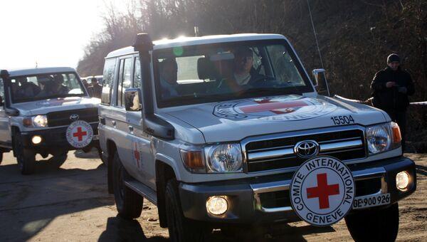 Спасательные экипажи Международного комитета Красного Креста. Архивное фото