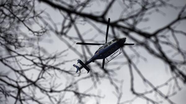 Вертолет турецкой полиции