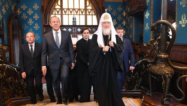 Прием от имени министра иностранных дел РФ С.Лаврова по случаю православной Пасхи