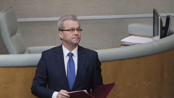 Полномочный представитель президента РФ в Государственной Думе РФ Гарри Минх