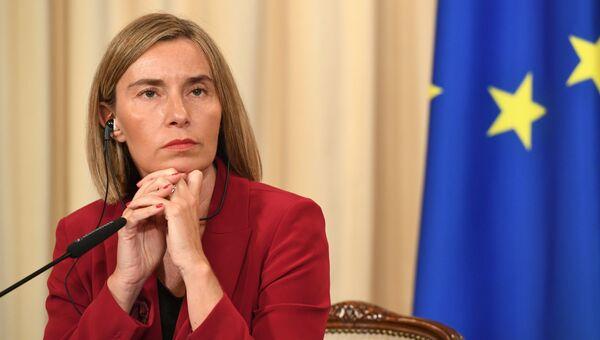Высокий представитель ЕС по иностранным делам и политике безопасности Федерика Могерини. Архивное фото